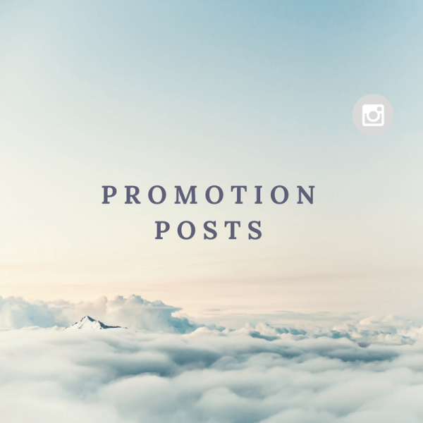 Promotion posts