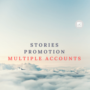Stories promotion